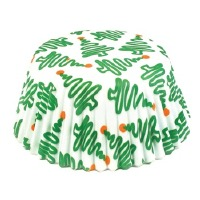 Holiday Trees Bake Cup 50 CT