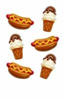 Hot Dog Ice Cream Candy Mold