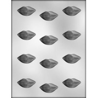 "1-5/8"" Hot Lips Candy Mold (12)"