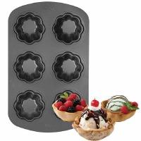 Ice Cream Cookie Bowl Baking Pan 6 Cavity