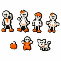 Icing Decoration Skeleton Family