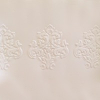 Impression Mat Damask Border 4