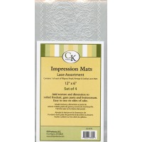 Impression Mat Lace Assorted 4