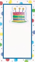 Imprint Cake Invitations 8 CT