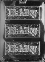 Its a Boy Bar Mold