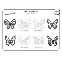 JEM CC Cutter Butterfly Set 4