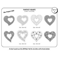 JEM Cupcake Cutter Heart Set 4