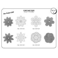 JEM Cupcake Tops Design 2 Set 4