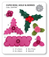 JEM Cupid Rose Holly & Berries