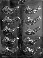 Jewish Horn (Shofar) Mold