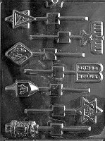 Jewish Lolly Mold