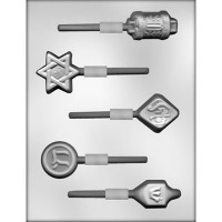 Jewish Symbols Asst. Suckers 5
