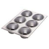 Jumbo Muffin Pan 6-Cavity