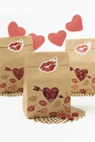 Kraft Paper Bag Kit 6 PC