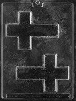Large Cross Candy Mold (2)