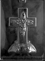 Large Cross w/Base Mold