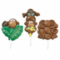 Large Monkey Lollipop Candy Mold