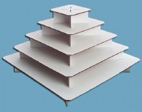 Large Square Cupcake Stand
