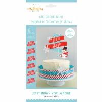 Let it Snow Cake Deco Kit