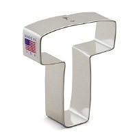 "3"" Cookie Cutter Letter T"