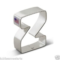 "3"" Cookie Cutter Letter Z"