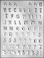 ".50""Letters & Numbers Mold(67)"