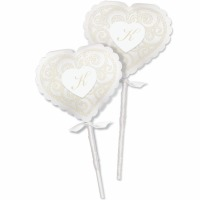 Lollipop Wrap Kit Heart 20 CT