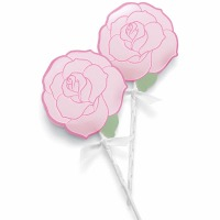 Lollipop Wrap Kit Rose 20 CT