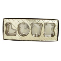LOVE Candy Box Mold #90-1802