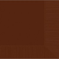 Lunch Napkin 50 CT Brown