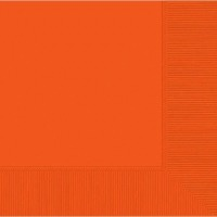 Lunch Napkin 50 CT Orange