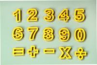 Math Time 15PC Cutter Set