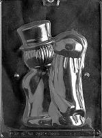 Med. Lg. Bride & Groom -Back