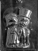 Med. Lg. Bride & Groom -Front