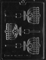 Menorah Lolly Mold