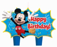Mickey Mouse Candles 4 CT