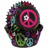 Mini Cup Peace Sign 100 CT