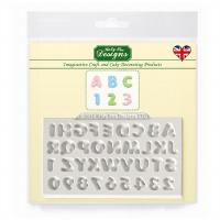Mini Dome Alphabet / Numeric -Silicone Katy Sue Designs