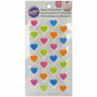 Mini Heart Icing Decoration