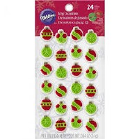 Mini Ornaments Icing Dec.
