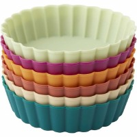 Mini Silicone Pie Pan 6pc