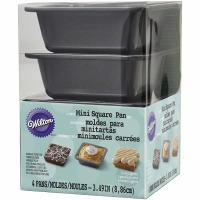 Mini Square Pie Pan 4 PC Set