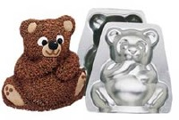 Mini Stand Up Bear Pan