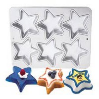 MINI STAR PAN 6 CAVITY