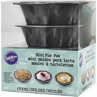 Mini Wave Pie Pan 4 PC Set