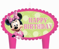 Minnie Mouse Candles 4 CT