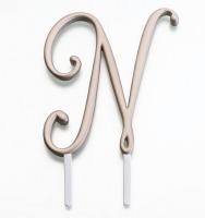 Monogram Gold N