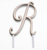 Monogram Gold R