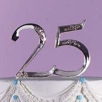 """Monogram Letter """"25"""""""