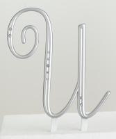 Monogram Silver Rhinestone U